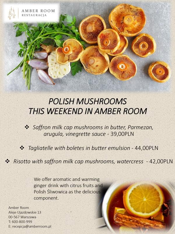 polskie rydze w Amber Room