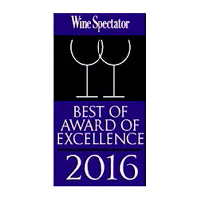 Wine Spectator Best of Award of Excellence