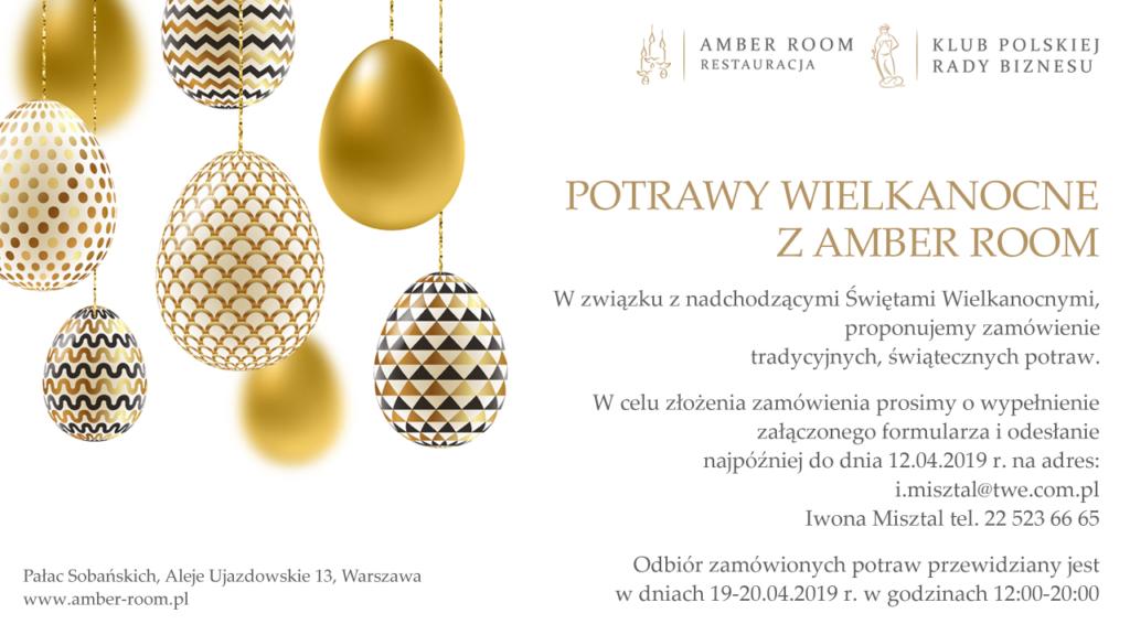 Potrawy Wielkanocne z Amber Room