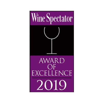 Amber Room - Wine Spectator Best of Award of Excellence