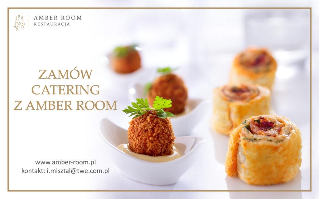 Zamów catering z Amber Room